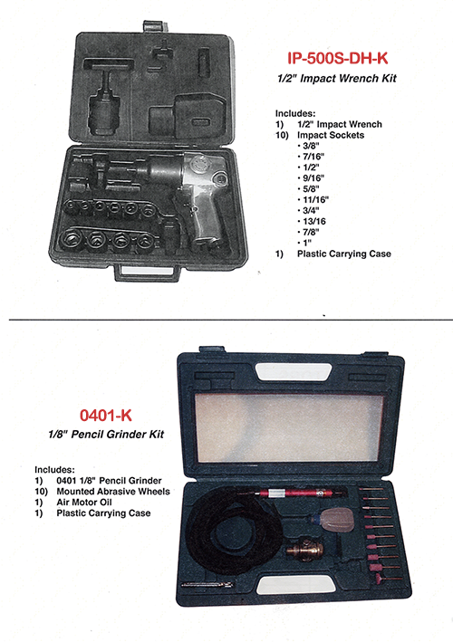 Tool Kits 0401-k and IP-500D-DH-K